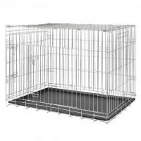 Trixie Köpek Taşıma Galvaniz Kafes, 93X69X62cm