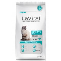 La Vital Cat Adult Sensitive Somon Balikli Yetişkin Kedi Mamasi 1.5 Kg