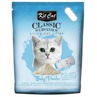 Kit Cat Baby Powder Bebek Pudrası Kokulu Silika Kedi Kumu 5 Lt