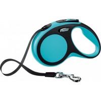 Flexi Yeni Comfort Gezdirme Kayışı S 5M Mavi