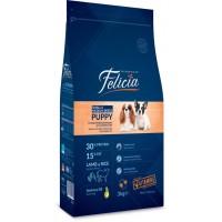 Felicia High Premium Kuzulu Küçük Orta Irk Yavru Köpek Maması 3 Kg
