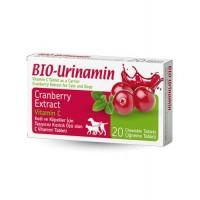 Pet Active Bio Urinamin İdrar Yolu Sağlığı İçin C Vitamini Tableti (20 Adet)