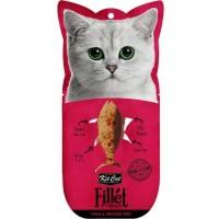 Kit Cat Fillet Fresh Tuna & Smoked Fish Tütsülenmiş Ton Balıklı Kedi Ödülü 30 Gr