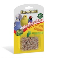 Euro Gold Mineral Block Ufak Kuşlar İçin
