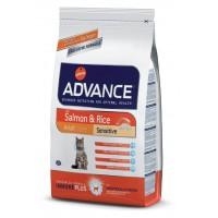 Advance Sensitive Somonlu Yetişkin Kedi Maması 1.5 Kg