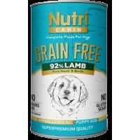 Nutri Canin Kuzu Etli Patatesli Tahılsız Yavru Köpek Konservesi 400 Gr