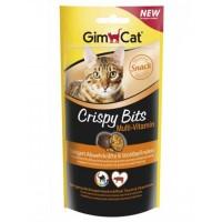 Gimcat Crispy Bits Bağışıklık Destekleyen Vitaminli Kedi Ödülü 40 gr