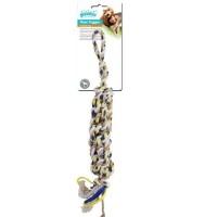 Pawise Floss Tugger Tutma Saplı İp Çubuk Köpek Oyuncağı 43 Cm
