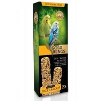 Gold Wings Premium Muhabbet Kuşlari Için Balli Kraker 2'Li