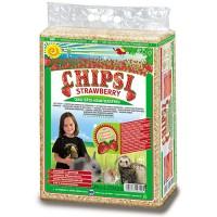 *Chipsi Plus Çilek Aromali Kemirgen Talaşı 60 Lt
