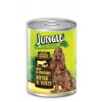 Jungle Biftekli Ve Sebzeli Yetişkin Köpek Konservesi 415 Gr