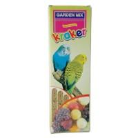 Gardenmix Muhabbet Kuşu Krakeri 3 Lü Meyveli