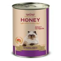 Honey Premium Somonlu Kısırlaştırılmış Yetişkin Kedi Konservesi 415 Gr