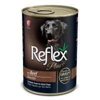 Reflex Plus Biftekli Parça Etli Yetişkin Köpek Konservesi 400 gr