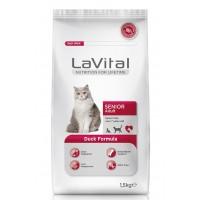 La Vital Cat Senior 7+ Yaş Için Ördek Etli Kedi Mamasi 1.5 Kg