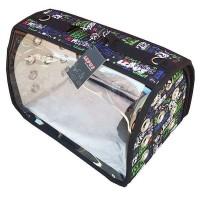 *Lepus Flybag Şeffaf Kedi ve Köpek Taşıma Çantası 25x40x25h cm