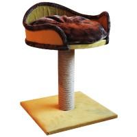 *Agira Platform Yataklı Kedi Tırmalama Standı 60 Cm