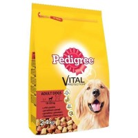 Pedigree Biftekli ve Kümes Hayvanlı Yetişkin Köpek Maması 15 Kg