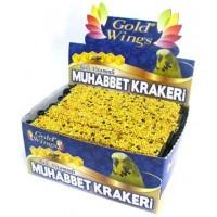 Gold Wings Muhabbet Kuşlari Için Balli Kraker 20'Li