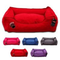Lepus Soft Dokuma Kumaş Kedi ve Köpek Yatağı X-Large 80x105x22h cm