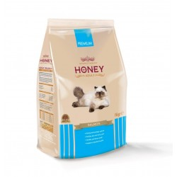 Honey Premium Somonlu Yetişkin Kedi Maması 1 Kg