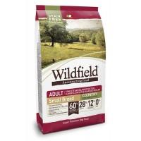 Wildfield Domuz Etli ve Tavşanlı Tahılsız Yetişkin Küçük Irk Köpek Maması 7 kg
