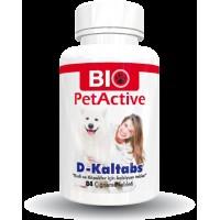 Pet Active D-Kaltabs Kedi&Köpek Için Kalsiyum Tableti 84 Adet