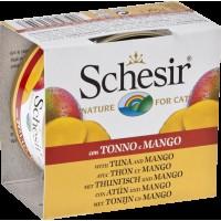Schesir Nature Ton Balıklı Ve Mangolu Kedi Konservesi 75 gr