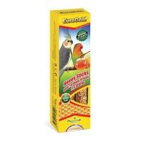 Euro Gold Parakeet Kuşları için Ballı Kraker 2'li 130 Gr