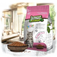 Jungle Junıor Tavuklu Yavru Kedi Maması 1.5 Kg