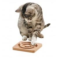 Karlie Ahşap Kedi Zeka Oyuncağı 19X19X2  Cm
