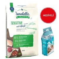 Sanabelle Sensitive Poultry Glutensiz Kedi Maması 10 Kg+Paticat Kedi Kumu 10 Kg Hediye