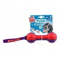*Gigwi 6182 Push To Mute Dambıl Ses Kontrollü Köpek Oyuncağı 19 cm