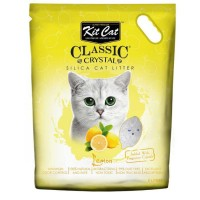 Kit Cat Lemon Limon Kokulu Silika Kedi Kumu 5 Lt