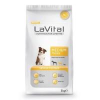 Lavital Medium Salmon Somonlu Orta Irk Yavru Köpek Maması 3 Kg