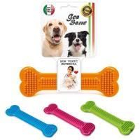 *Georplast Geobone-4 Termoplastik Kauçuk Köpek Diş Bakım Oyuncağı 19x6 h (cm)