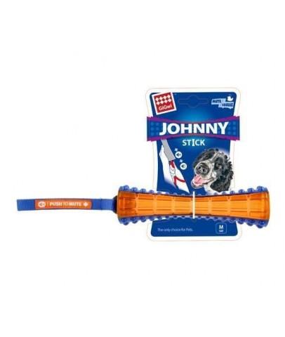 *Gigwi 6186 Johnny Stick Kemik Ses Kontrollü Köpek Oyuncağı 20 cm