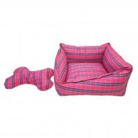 Catia Kemik Yastıklı Kare Yatak 1 (40X40 Cm)