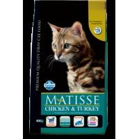 Matisse Tavuk Hindi ve Sebzeli Yetişkin Kedi Maması 1.5 Kg