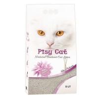 Pisy Cat Natural Tozsuz Topaklaşan İnce Kedi Kumu 5 Lt