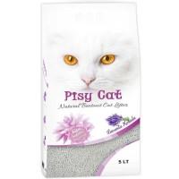 Pisy Cat Lavantalı Tozsuz Topaklaşan İnce Kedi Kumu 5 Lt