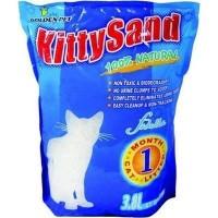 Kitty Sand Hijyenik Tozsuz Süper Emici Silika Kristal Kedi Kumu 3.8 Lt