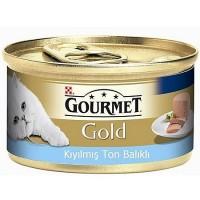 Gourmet Gold Kiyilmiş Ton Balikli Yetişkin Kedi Konservesi 85 Gr