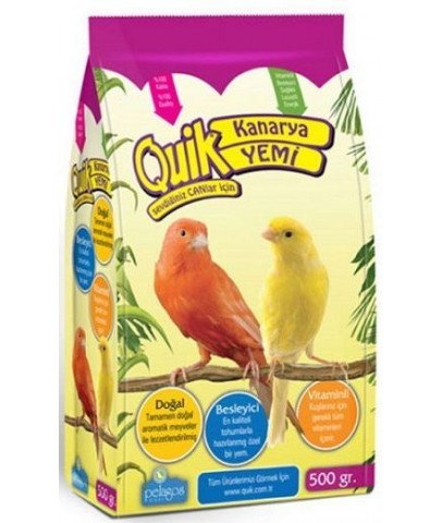 Quik Vitaminli Kanarya Yemi 500 Gr