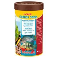Sera Cichlids Sticks Balik Yemi 1000 ml  210 Gr.
