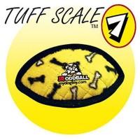 *Tuffy Jr. Odd Ball Sarı Kemik Desenli Peluş Köpek Oyuncağı