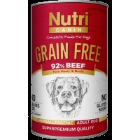 Nutri Canin Biftekli Tahılsız Yetişkin Köpek Konservesi 400 Gr