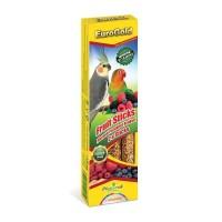 Euro Gold Parakeet Kuşları için Meyveli Kraker 2'li 130 Gr