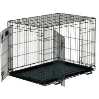 *Dayang 043-C Katlanabilir Metal Kedi Köpek Kafesi 93X57X64 Cm