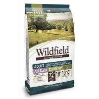 Wildfield Domuz Etli ve Tavşanlı Tahılsız Yavru ve Yetişkin Kedi Maması 2 kg